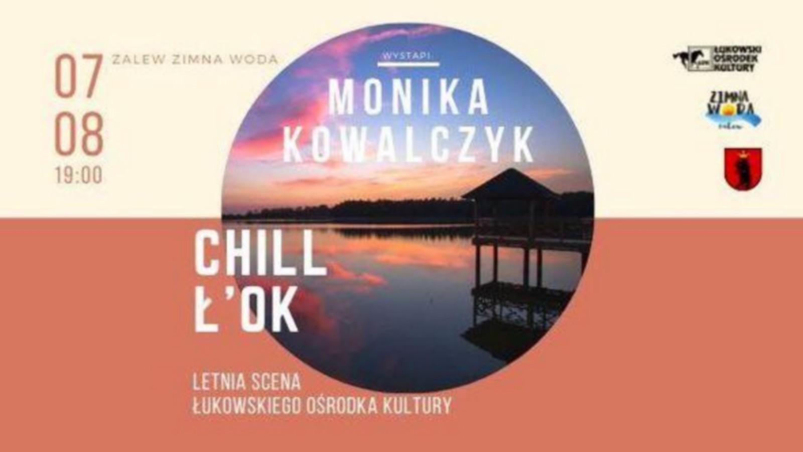 Monika Kowalczyk nad zalewem