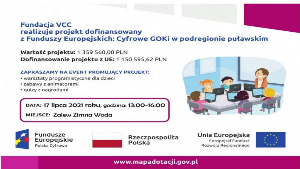 Event promujący projekt Cyfrowe GOKi